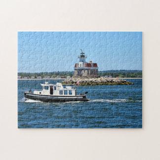 Penfield Riff-Leuchtturm, Connecticut-Puzzlespiel Puzzle