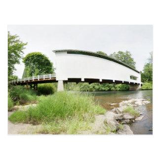 Pengra überdachte Brücke Postkarte
