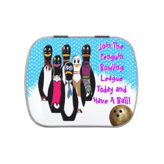 Penguin-Bowlings-Liga (personalisiert) Vorratsdose