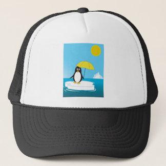 Penguin - globale Erwärmung Truckerkappe