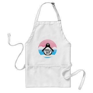 Penguin kühlen heraus lustige T - Shirt-Geschenke Schürze