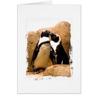Penguin-Liebe Karte