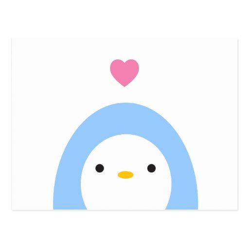 Penguin-Liebe Postkarten