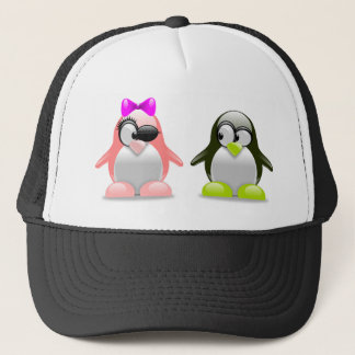 Penguin-Liebe Truckerkappe