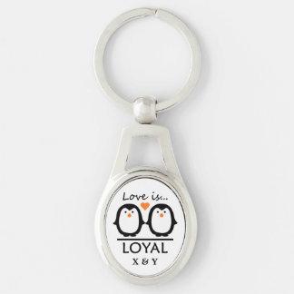 Penguin-Liebekundenspezifische Schlüsselkette Schlüsselanhänger
