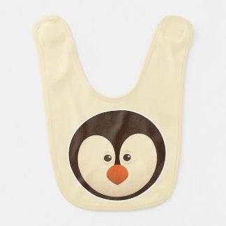 Penguin-niedliche Baby-Schellfische Babylätzchen