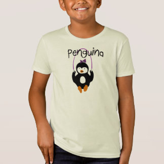 Penguina Sprungs-Seil T-Shirt