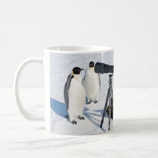 Penguinpaparazzi-Tasse Kaffeetasse