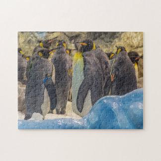 Penguins am Zoo-Fotopuzzlespiel Puzzle
