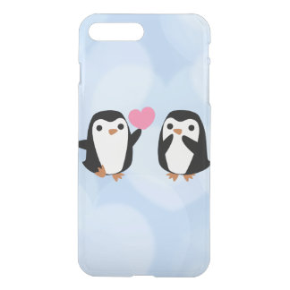 Penguins in der Liebe iPhone 8 Plus/7 Plus Hülle
