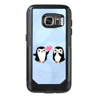 Penguins in der Liebe OtterBox Samsung Galaxy S7 Hülle