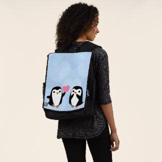 Penguins in der Liebe Rucksack