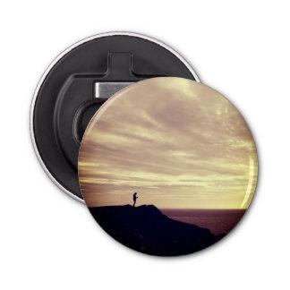 Pennard Klippen am Sonnenuntergang, Gower, Swansea Flaschenöffner