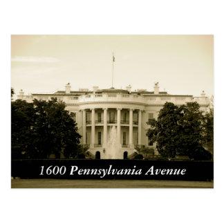 Pennsylvania-Allee 1600 Postkarten