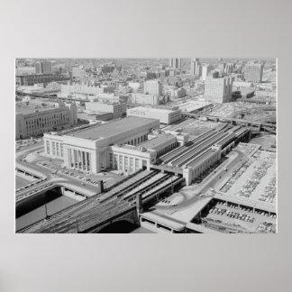 Pennsylvania-Eisenbahn-30. Straßen-Station Poster