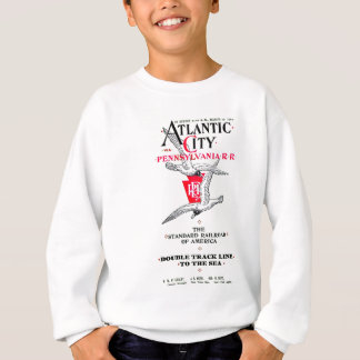 Pennsylvania-Eisenbahn-Atlantic City Service 1904 Sweatshirt