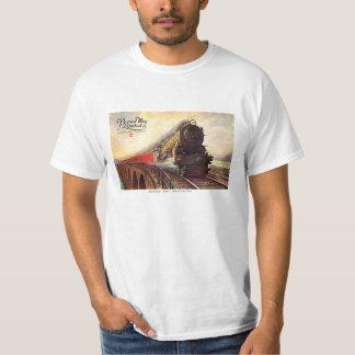 Pennsylvania-Eisenbahn Broadway begrenzt T-Shirt