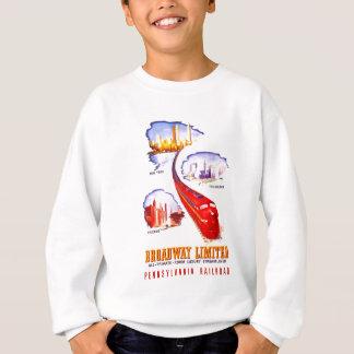 Pennsylvania-Eisenbahn Broadway begrenztes Sweatshirt