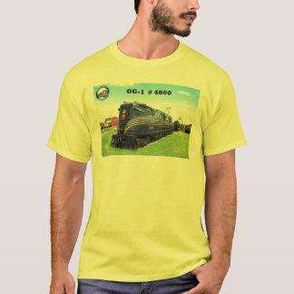 Pennsylvania-Eisenbahn-Lokomotive GG-1 #4800 -2- T-Shirt
