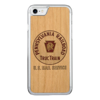 Pennsylvania-Eisenbahn TrucTrain Service Carved iPhone 8/7 Hülle