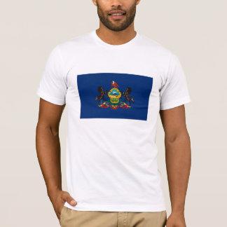 Pennsylvania-Flaggen-T - Shirt