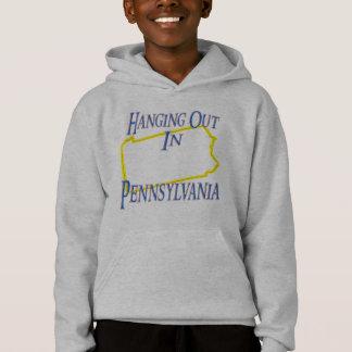 Pennsylvania - heraus hängend hoodie