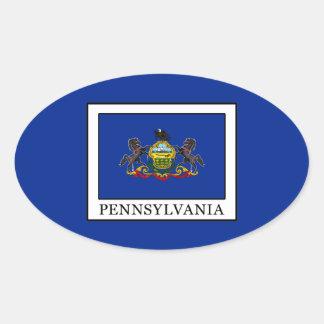 Pennsylvania Ovaler Aufkleber