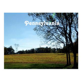 Pennsylvania Postkarte