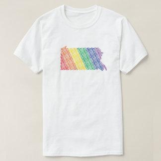 Pennsylvania-Regenbogen-Staat T-Shirt