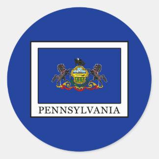 Pennsylvania Runder Aufkleber