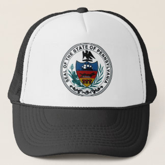 Pennsylvania-Staats-Siegel Truckerkappe