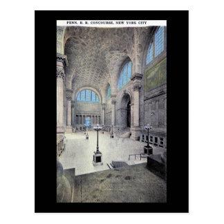 Pennsylvania-Station New York City 1913 Vintag Postkarten