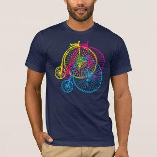 Penny-Farthings CMYK T-Shirt