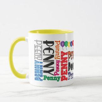 Penny-Kaffee-Tasse Tasse
