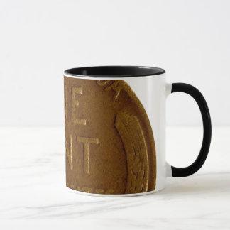 Penny-Tasse, US-Weizen-Penny Tasse