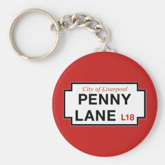 Penny-Weg, Straßenschild, Liverpool, Schlüsselanhänger