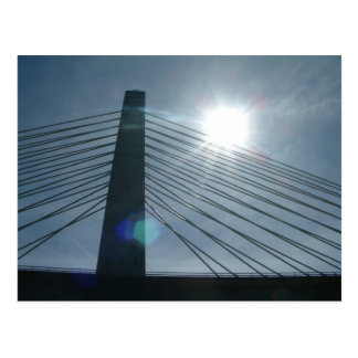 Penobscot verengt Brücke Postkarte