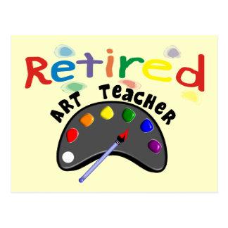 Pensionierte Kunstlehrer-Karten u. Geschenke Postkarte