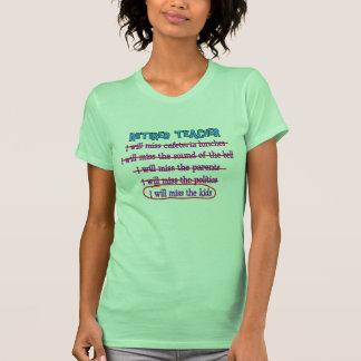 """Pensionierte lustige Geschenke Lehrer-""""ich werde F Hemd"""