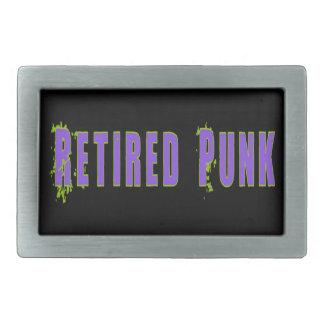 Pensionierte Punkgürtelschnalle Rechteckige Gürtelschnallen