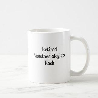 Pensionierter Anästhesiologe-Felsen Kaffeetasse