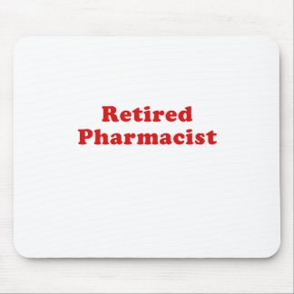 Pensionierter Apotheker Mousepads