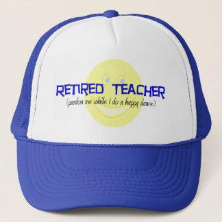 """Pensionierter Lehrer """", der tut den glücklichen Truckerkappe"""
