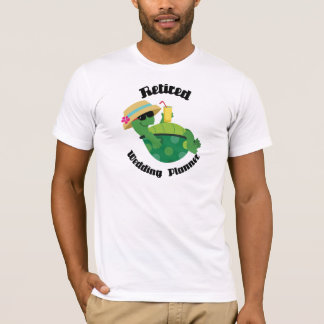 Pensionierter Wedding Planer (Schildkröte) T-Shirt