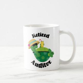Pensionierter Wirtschaftsprüfer (Schildkröte) Kaffeetasse