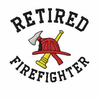 Pensioniertes Feuerwehrmann gesticktes Shirt