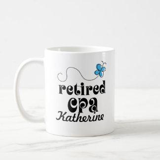 Pensioniertes personalisiertes Geschenk CPA Kaffeetasse