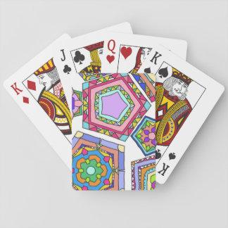 Pentagon-Karten Spielkarten