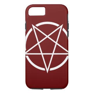 Pentagram (weißes) No.1 iPhone 8/7 Hülle