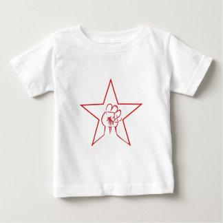 Pentagramm Faust pentagram fist Baby T-shirt